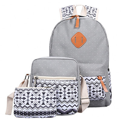 Middle High School Vintage Bookbags