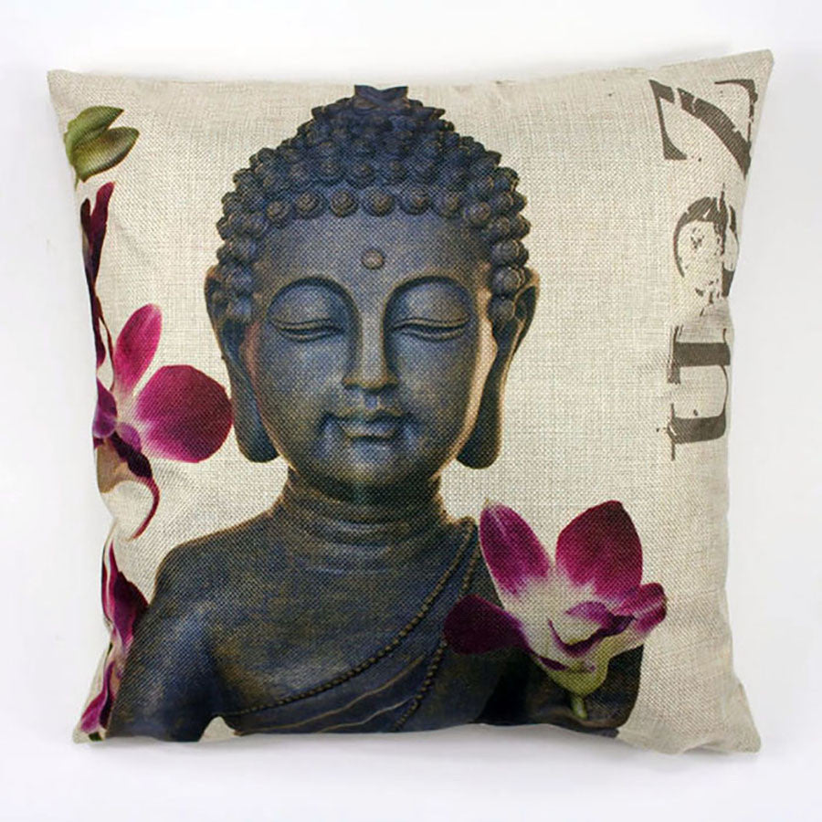 Zen Art Throw Pillow Case for Sofa