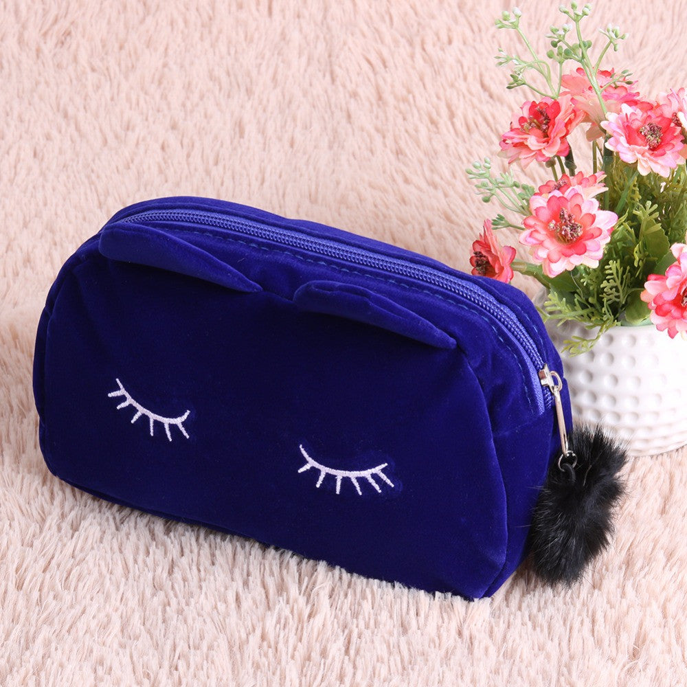 Cute Cosmetic Cat Bag