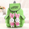 Twin Rabbit Girl Backpack