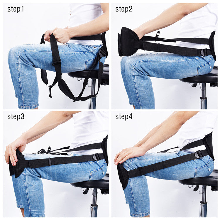 Waist Protector, Correcting Posture While Seated