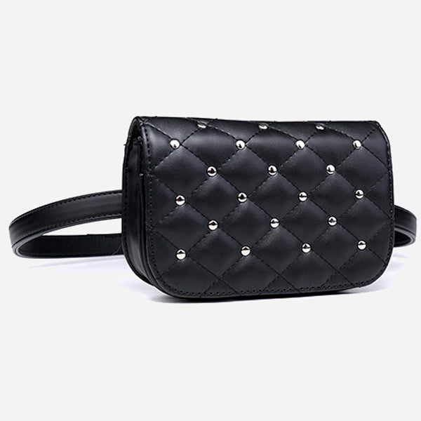 Quilted Belt Bag for Women