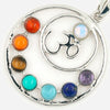 Health Amulet Pendant: 7 Chakras and Yoga Symbol