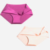 Seamless Solid Ice Silk Panty Pack (2)