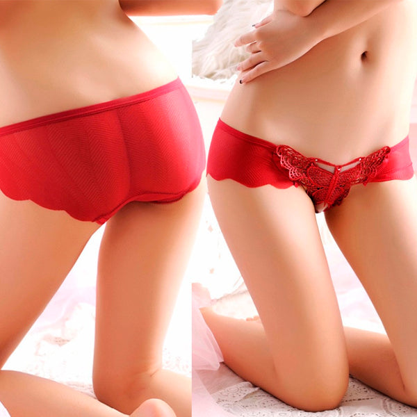 Sexy Butterfly G-string Panties (3 Pcs)