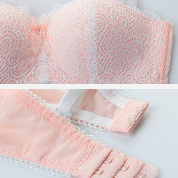 Embroidery Lace Luxury Set