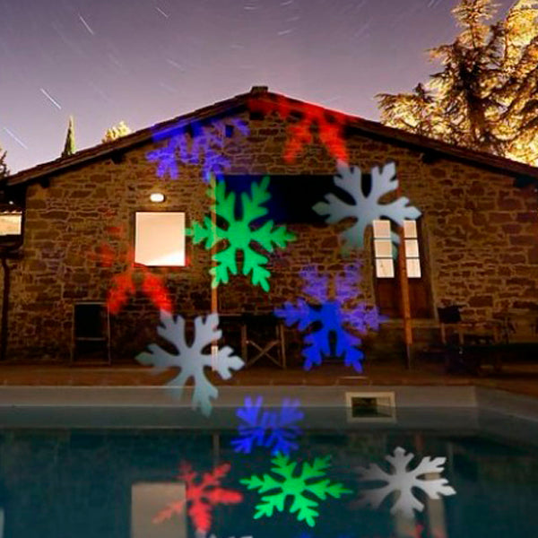 Christmas Snowflake Laser Projector