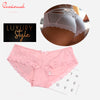 Seamless Solid Satin Silk Panty
