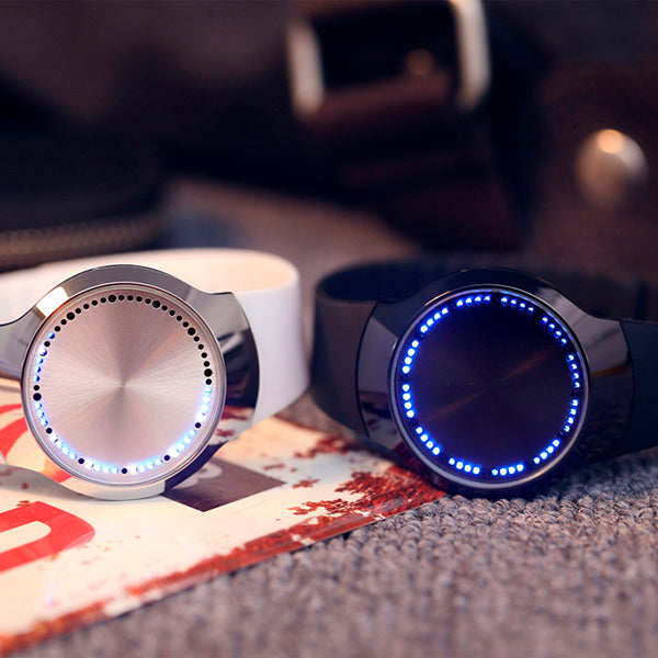 Touch Screen Futuristic Wrist Watch 5