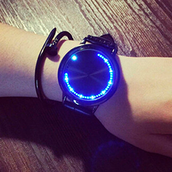 Touch Screen Futuristic Wrist Watch