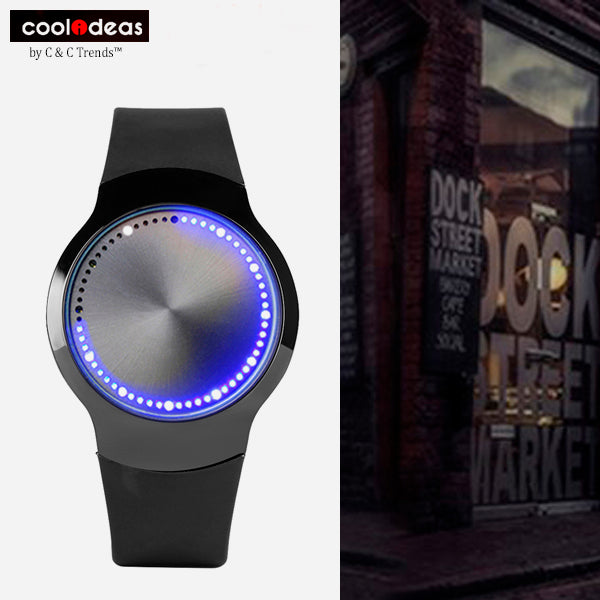 Touch Screen Futuristic Wrist Watch 12