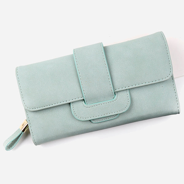 Romantic Tri-Folds Long Wallet