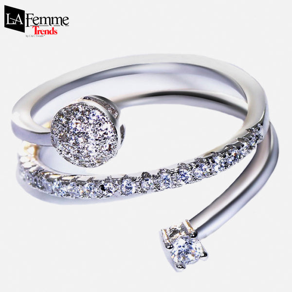 Twisted Rolling Romantic Ring 1a