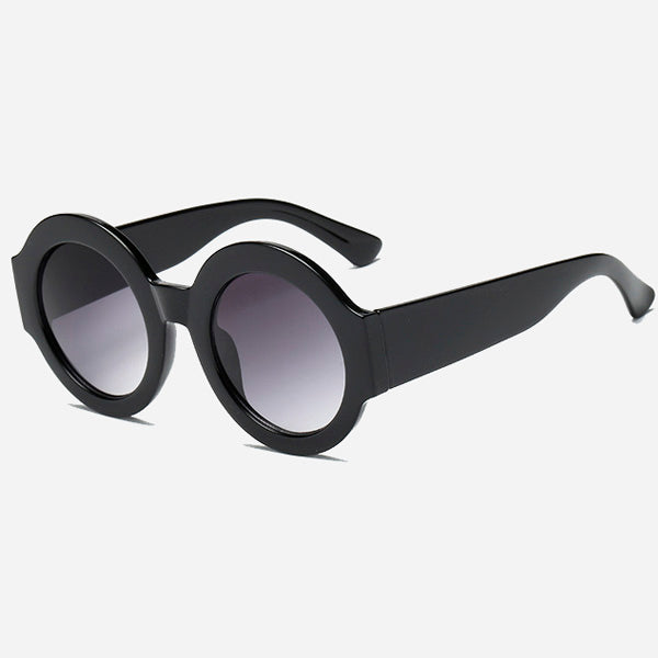 Urban Round Colorblock Sunglasses