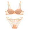 Transparent V Neck Temptation Set