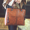 Vintage Double Pocket Casual Tote