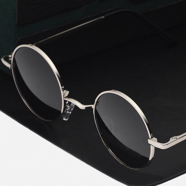 Vintage Round Polarized Sunglasses