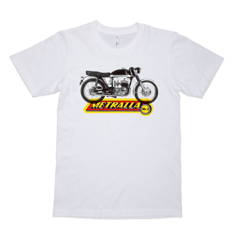 Bultaco Metralla t shirt in white