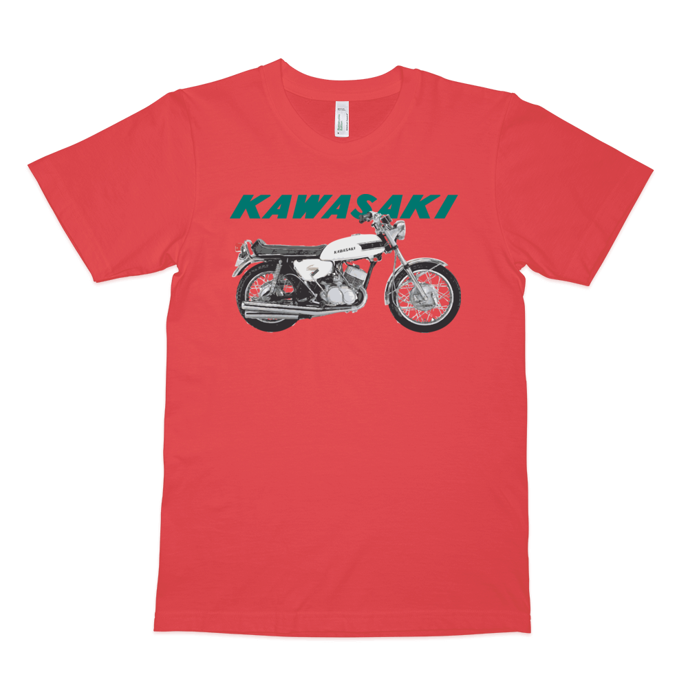 Kawasaki 500 H1 1969 T Shirt | Vox Throttle