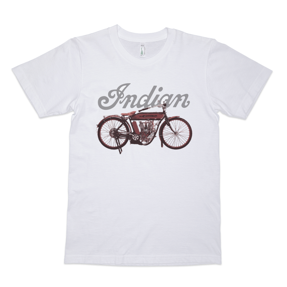 Indian Light Twin T Shirt | Vox Throttle