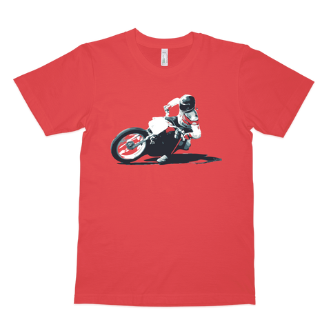 Harley Davidson Dirt Track Racer T Shirt | Vox Throttle