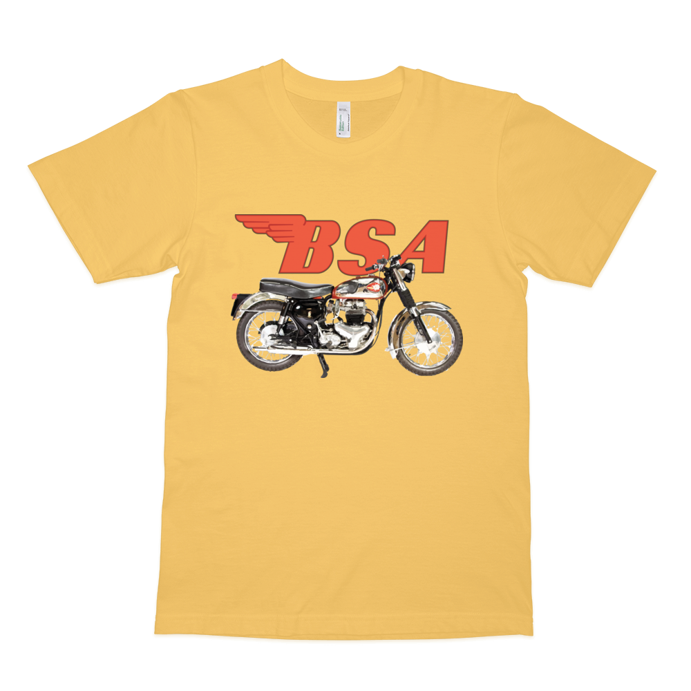 BSA Shooting Star T Shirt | Vox Throttle