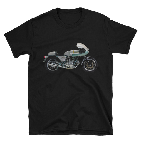 Ducati 750SS Green Frame T Shirt | Vox Throttle