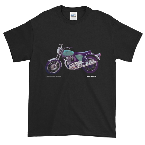 Norton Commando 750 Roadster 1970 T Shirt | Vox Throttle