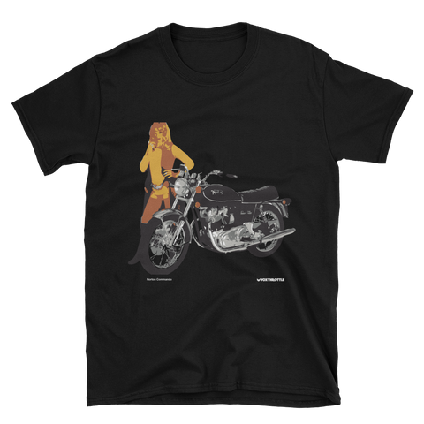Norton Commando T Shirt | Vox Throttle