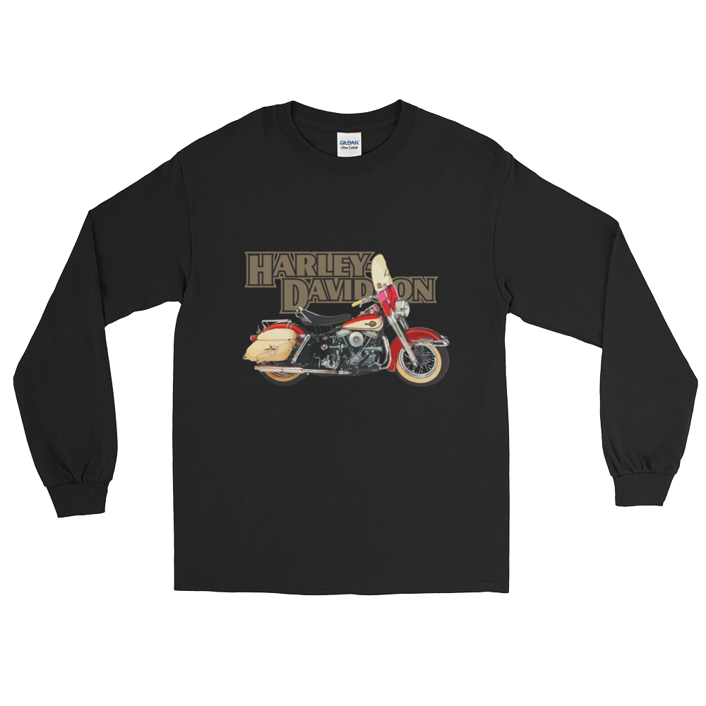 Harley Davidson Duo Glide 1960 Long T Shirt | Vox Throttle