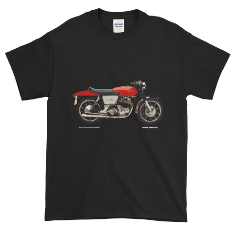 Norton Commando Fastback T Shirt | Vox Throttle