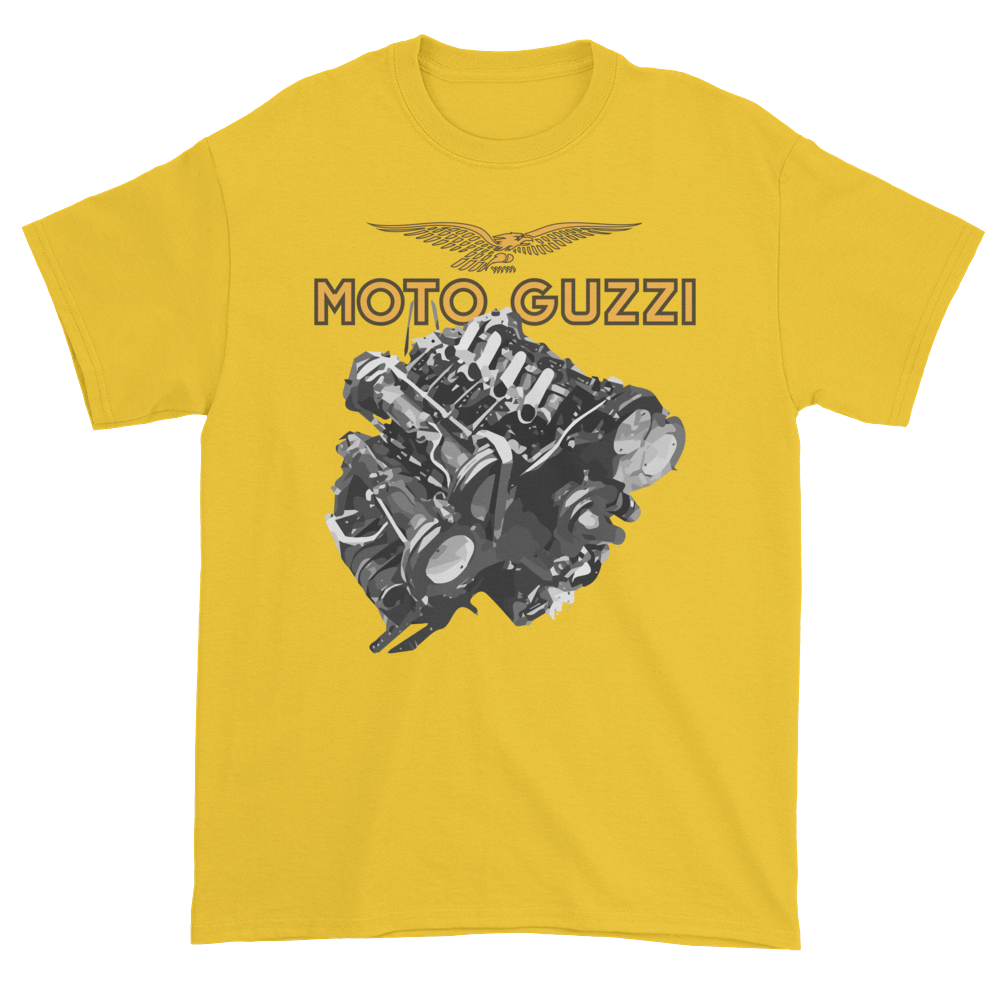 Moto Guzzi V8 GP Engine T Shirt | Vox Throttle