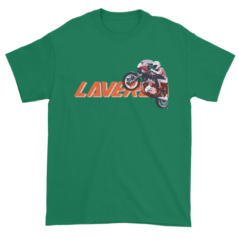 Laverda Jota 120 Wheelie T Shirt | Vox Throttle