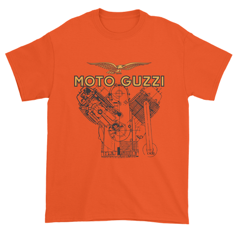 Moto Guzzi V7 Engine T Shirt | Vox Throttle