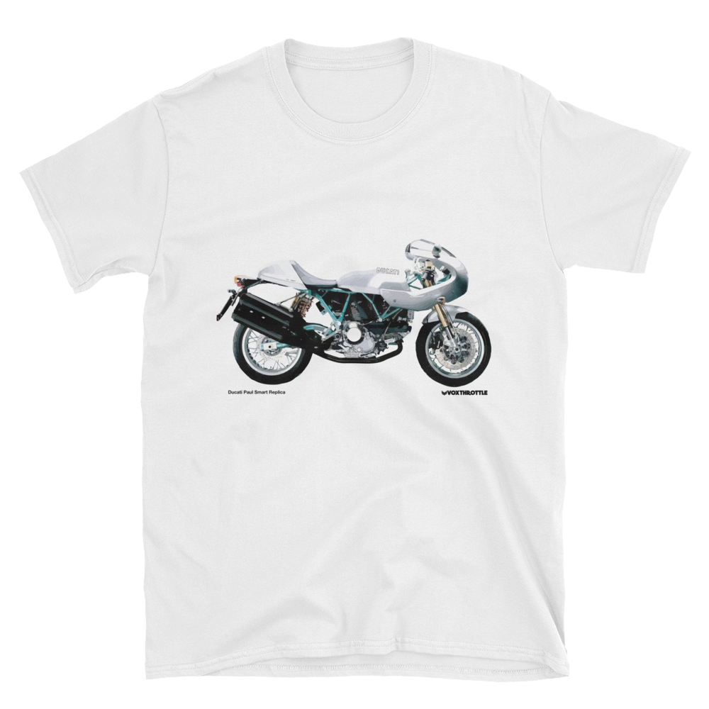 Ducati 1000 Paul Smart Replica T Shirt | Vox Throttle