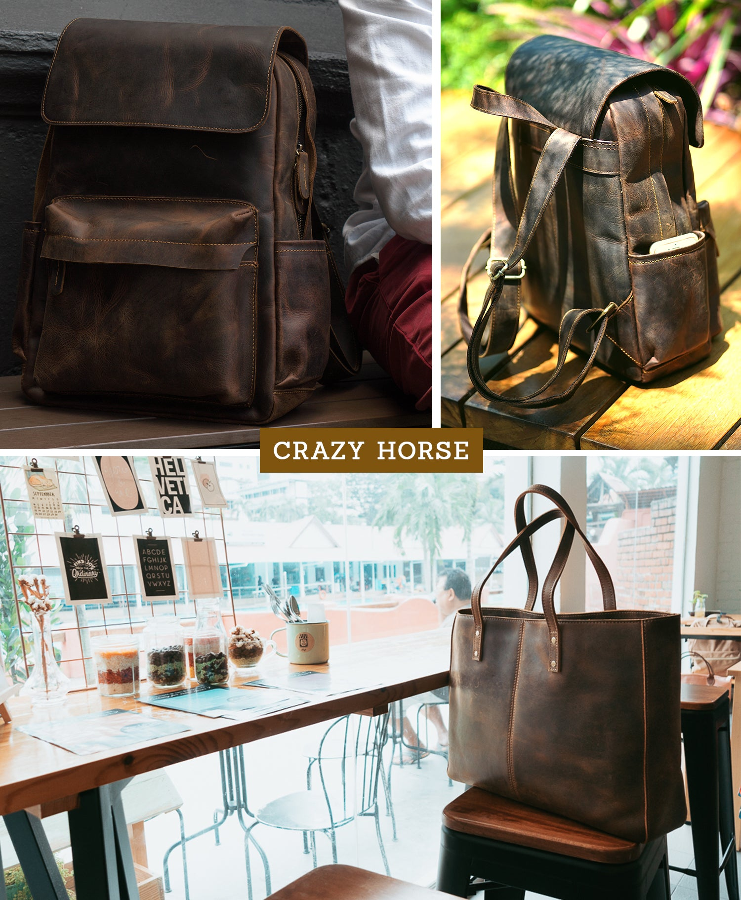 Crazy Horse Leather Collection Lookbook