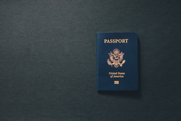 Don't forget your passport...