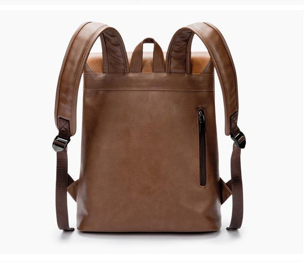 Cooper Vintage Leather Backpack-YONDER BAGS