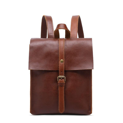 Heritage Vintage Leather Mini Backpack-YONDER BAGS