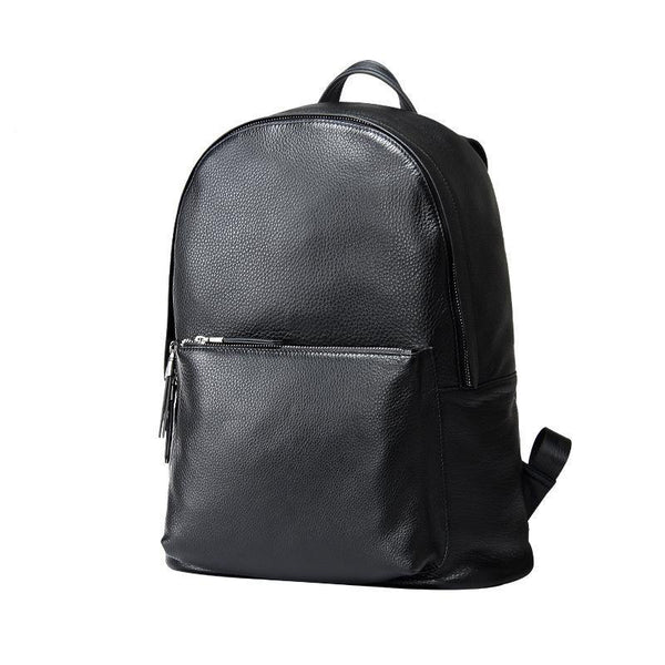 Sigma Leather Laptop Backpack-YONDER BAGS