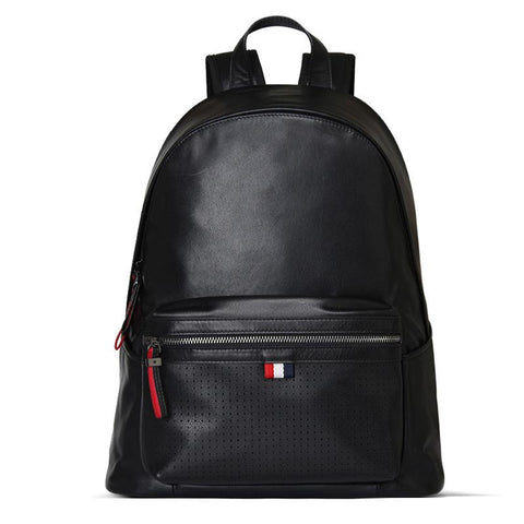Sigma Leather Laptop Backpack II-YONDER BAGS