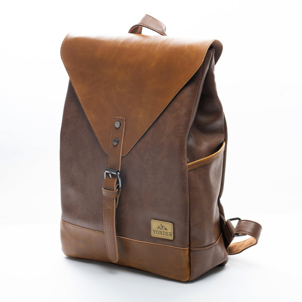 Spark Vintage Leather Backpack - YONDER BAGS