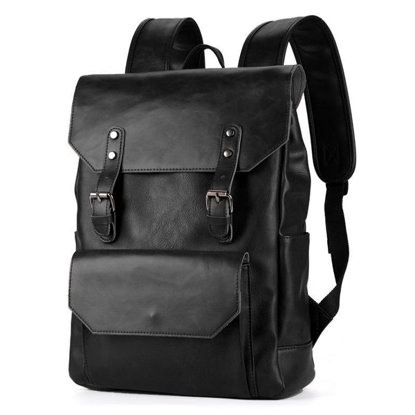 Spur II Vintage Leather Backpack - YONDER BAGS