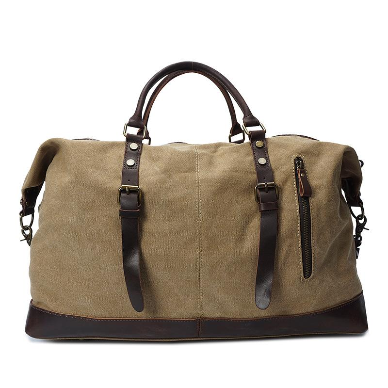 4bc059ad9c98 Army Green  Gray  Khaki. Quantity  Add to Cart. Description  Shipping and  Delivery. This vintage canvas duffle bag ...