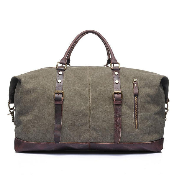 Strider Vintage Canvas Duffle Bag - YONDER BAGS
