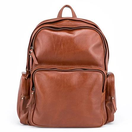 Vanguard Vintage Leather Backpack-YONDER BAGS