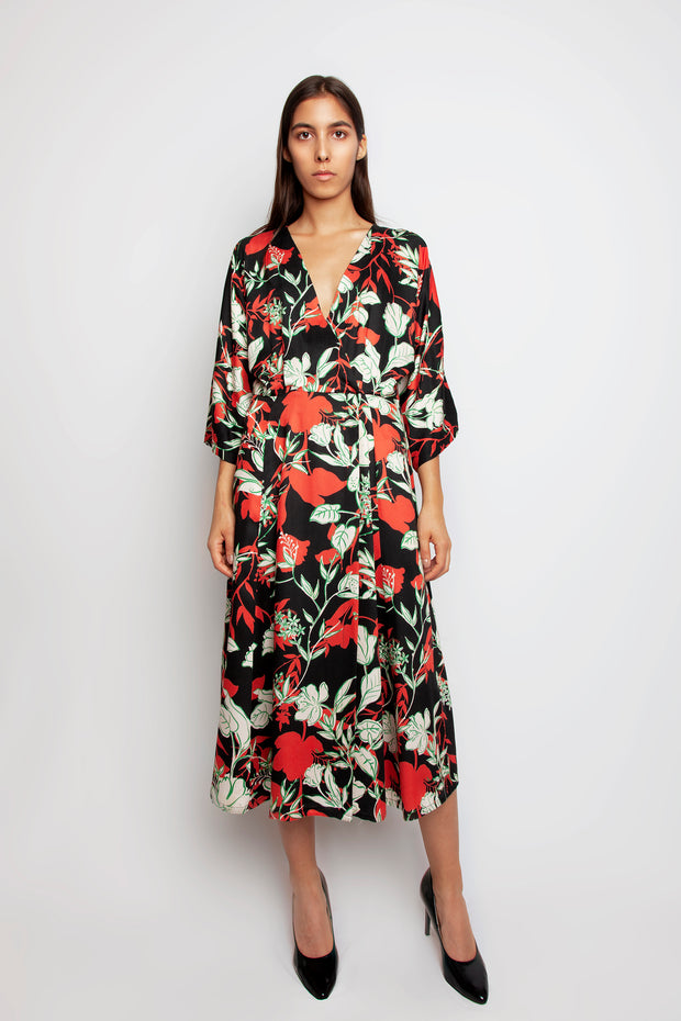 Yoko flower Dress