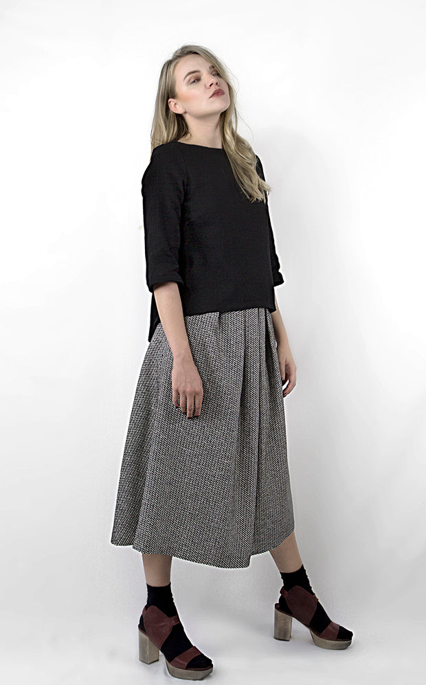 Nefarious b&w Skirt