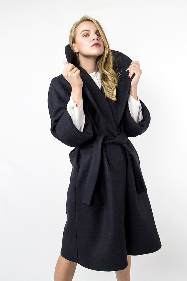 Emei black Coat