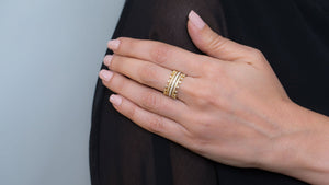 Sovereign Ring - meherjewellery